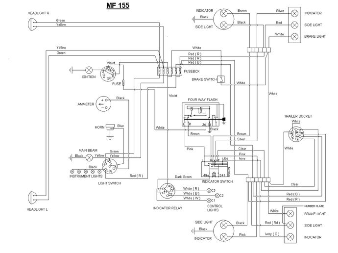 Mf 135 Wiring Diagram Data Blog