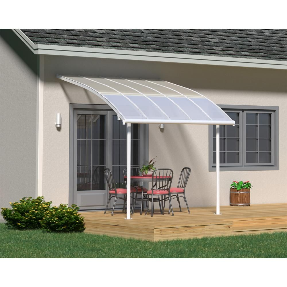 10x10 Pergola Designs: Palram Joya Patio Cover, Size 10x10 In 2019