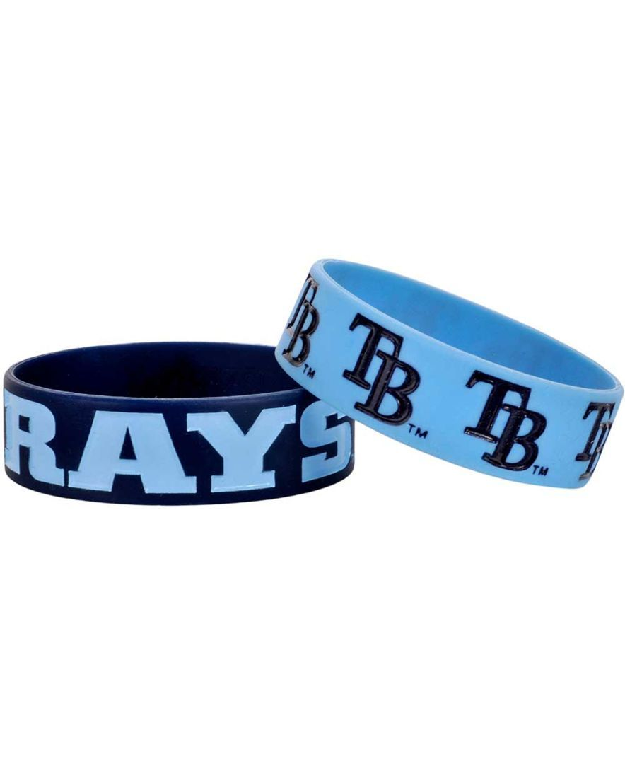 Forever Collectibles Tampa Bay Rays 2-Pack Phat Bandz