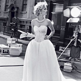 Old Hollywood-Inspired, Glamorous Wedding Gowns | Gowns, Tulle balls ...