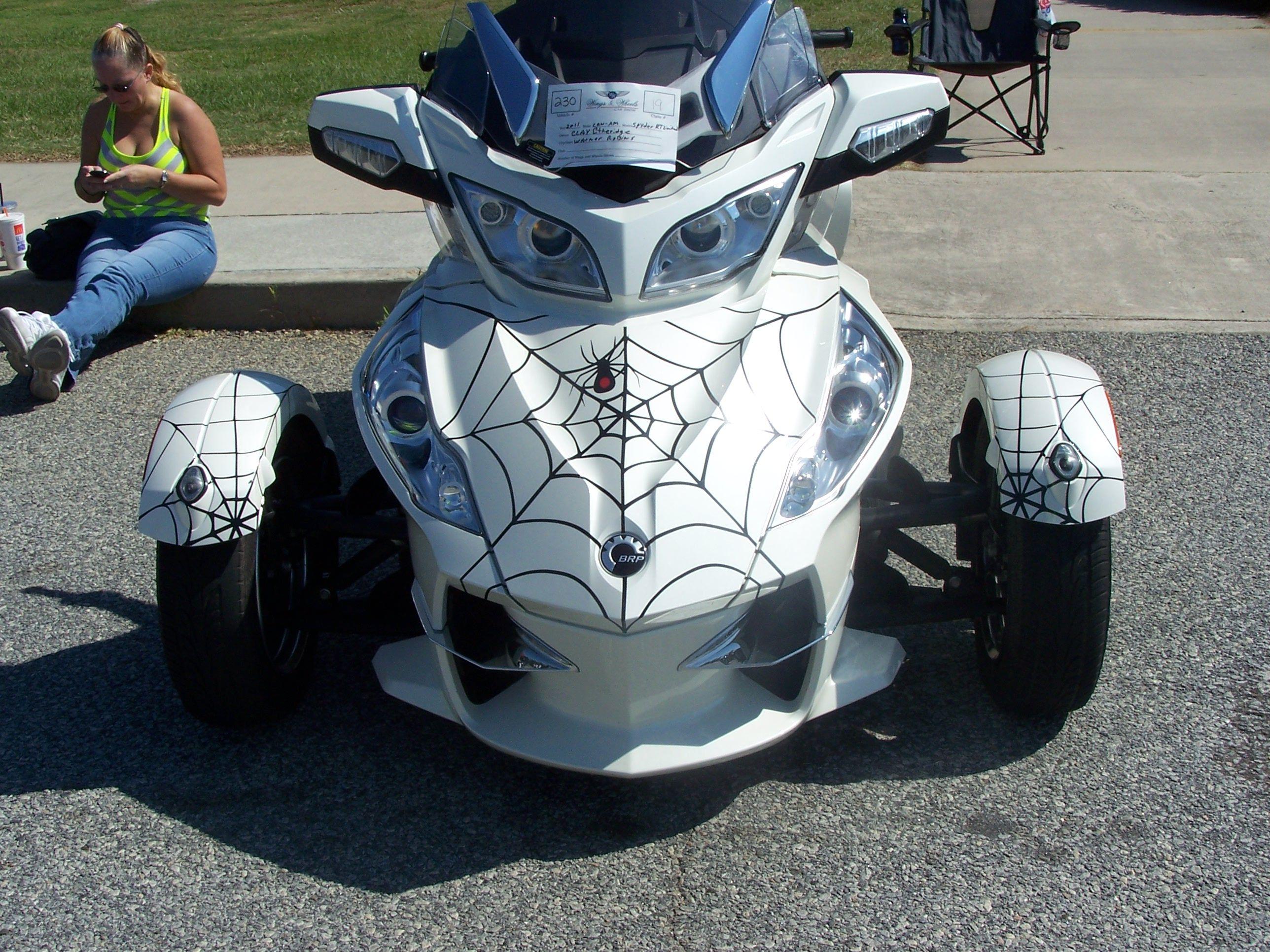 cam am spyder rt ltd with spider webs can am spyder pinterest wheels trike motorcycle. Black Bedroom Furniture Sets. Home Design Ideas