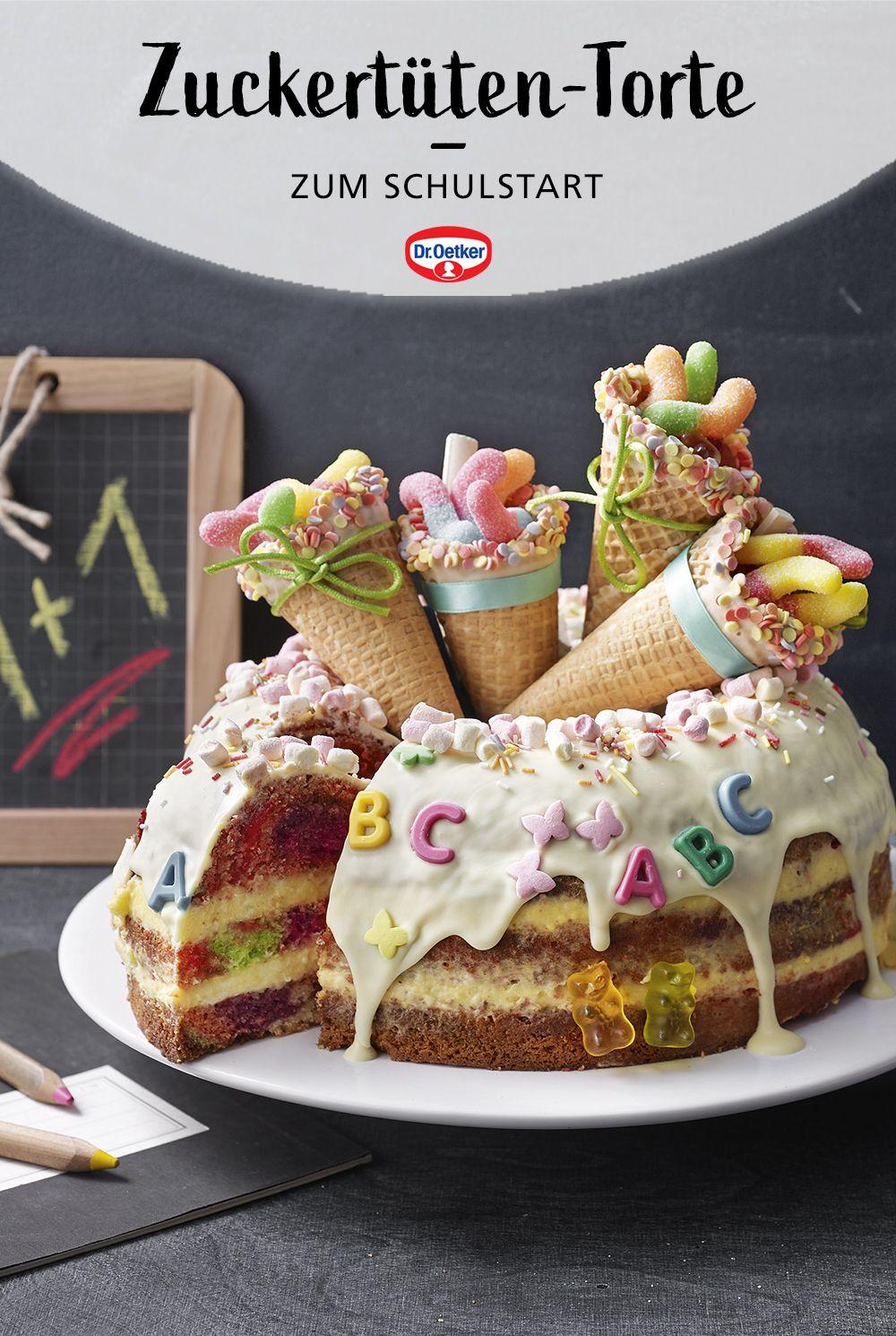 Photo of Zuckertüten-Torte zum Schulstart