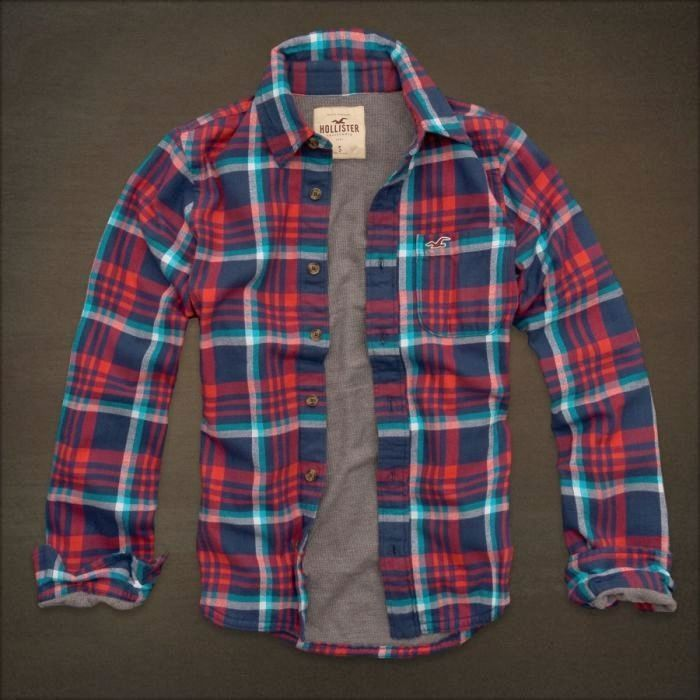 Men S Insulated Flannel Shirts Hollister New Mens