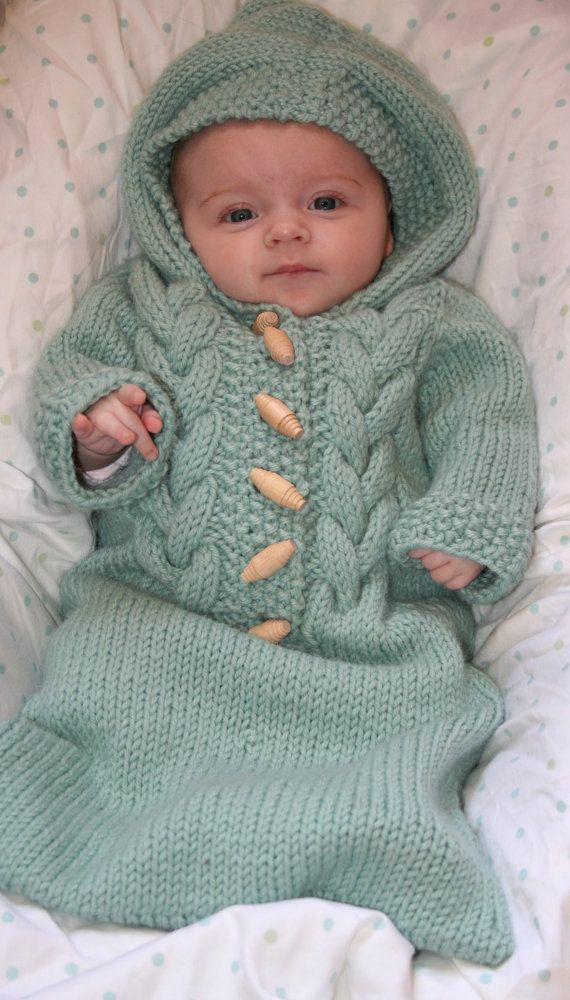 baby bunting knitting pattern | Gift Ideas | Pinterest | Sacos ...