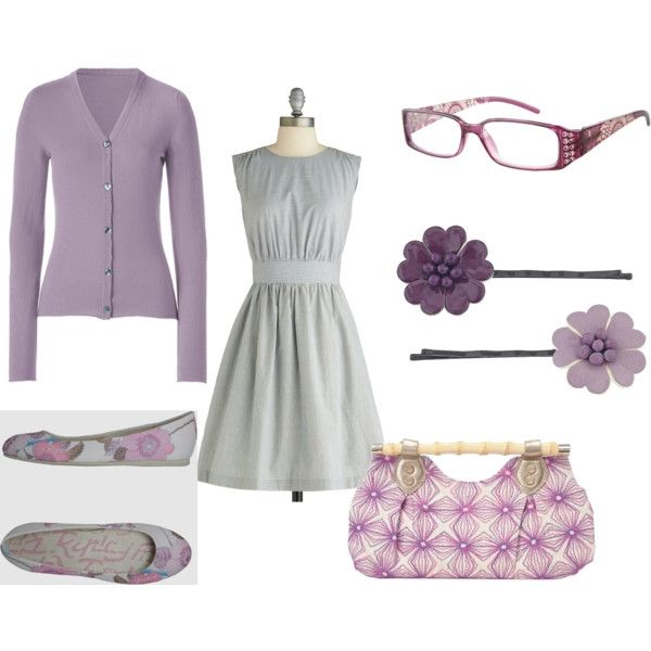 This would be such a cute outfit for church!