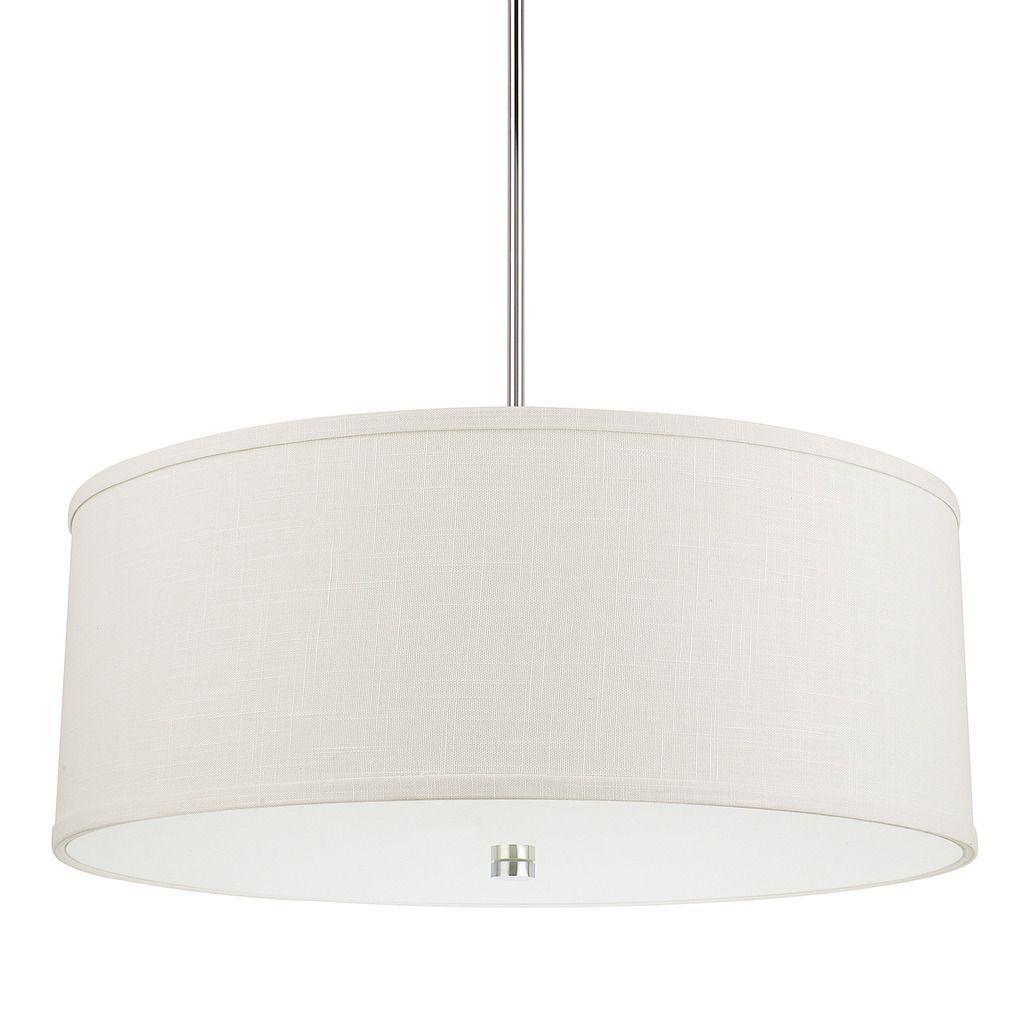 Capital Lighting Midtown Collection 4-light Polished Nickel Pendant