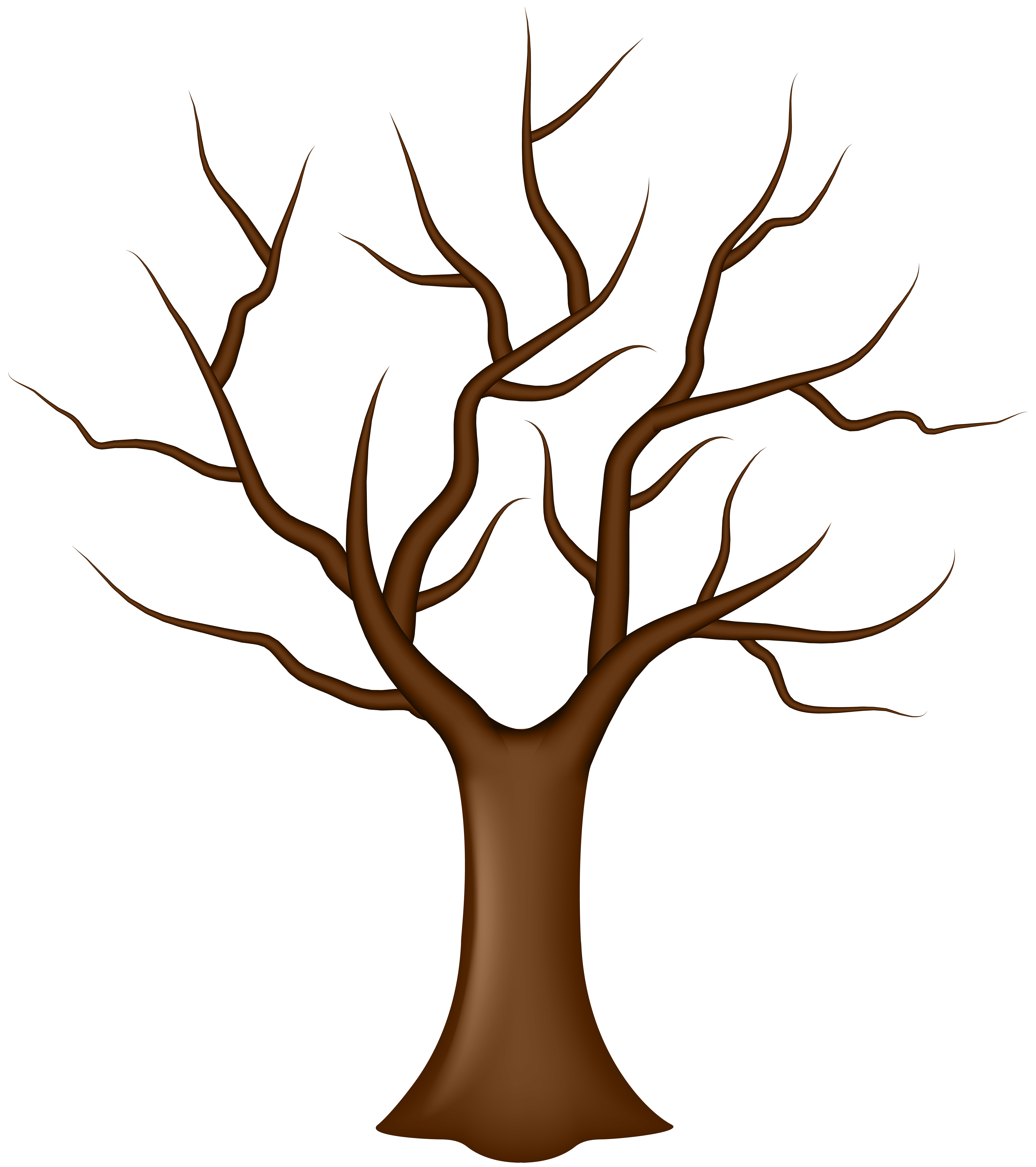 Tree Without Leaves Clip Art