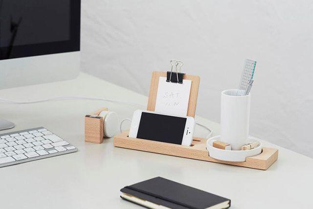 accessoires bureau design Accessoire bois Pinterest Wood