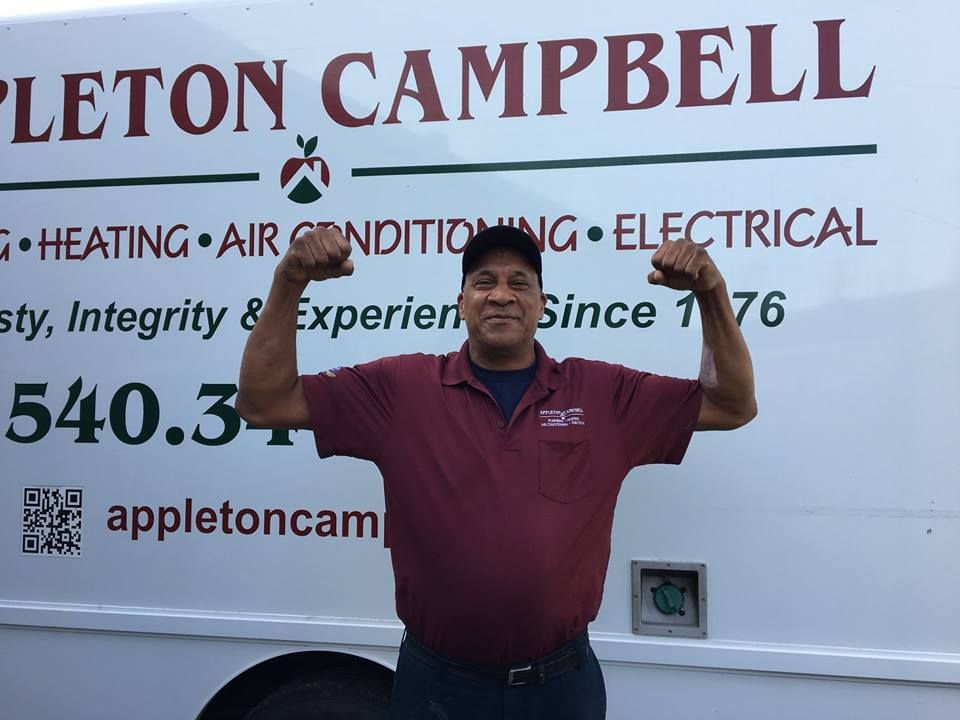 Employee Spotlight Ronnie Bland Heating Air Technician 15 Years Strong Appleton Campbell Has Treated Me Very Wel Heating Air Conditioning Very Well Learning