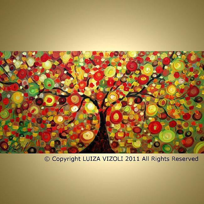 Art: fall season by Artist LUIZA VIZOLI | painting | Pinterest | Art ...