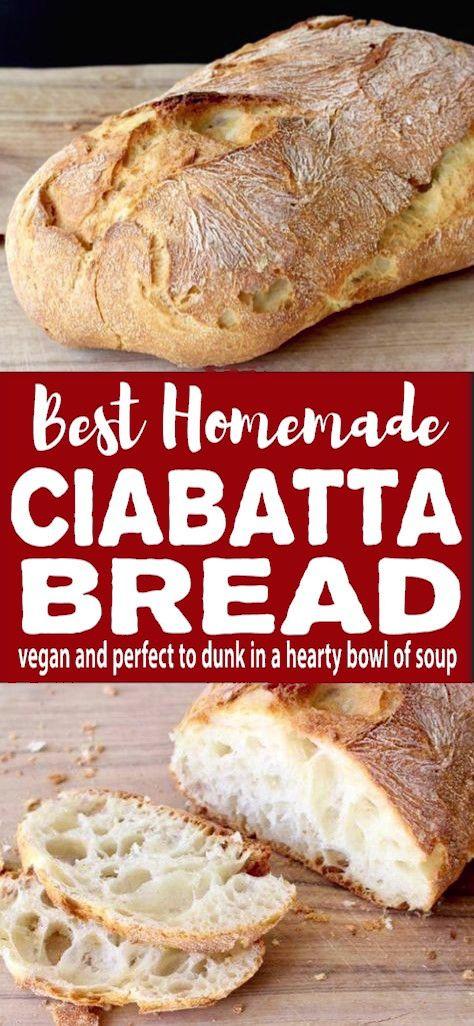 Easy Ciabatta Bread