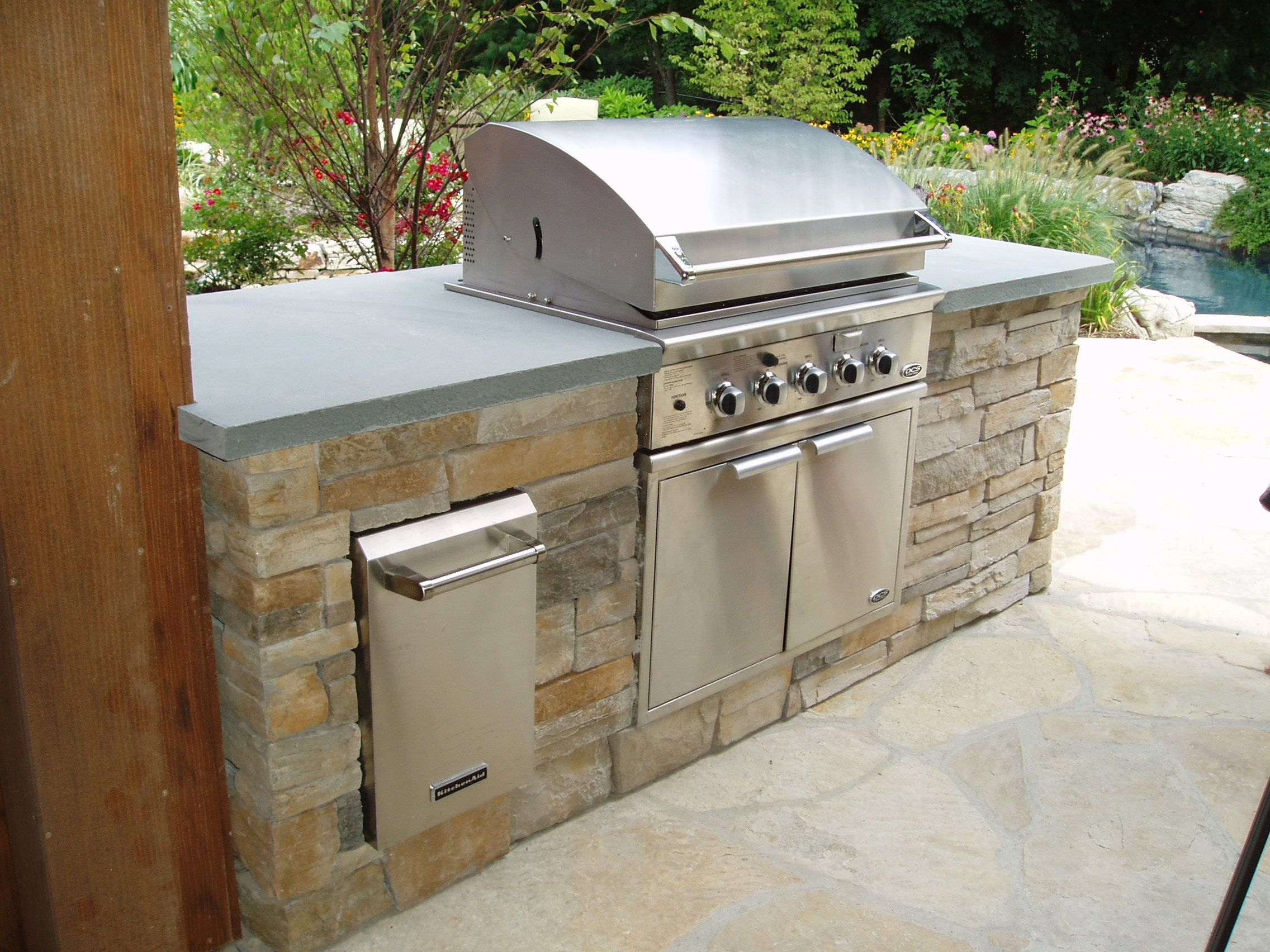 Outdoor Kitchen Griddle Brand New Cost Grill Find And Cooking Is Very