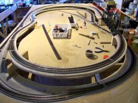 Ho Scale 4x8 Layout Ho Trains Ho Train Layouts Model
