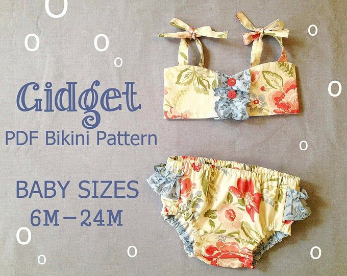 Sunny Flower – Pillowcase Romper Pattern. Girl Baby Toddler Sewing Pattern. Easy Sew Sizes 1/2, 1, 2, 3, 4, 5, 6 included