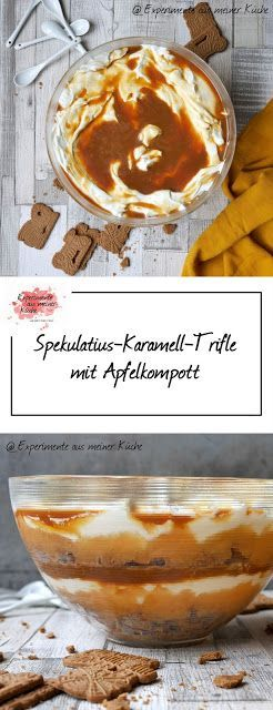 Spekulatius-Karamell-Trifle   Rezept   Dessert   Weihnachten