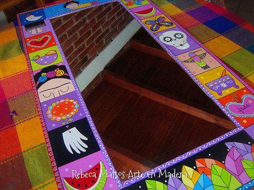 Espejo detalles de Frida | rebeca maltos | Flickr