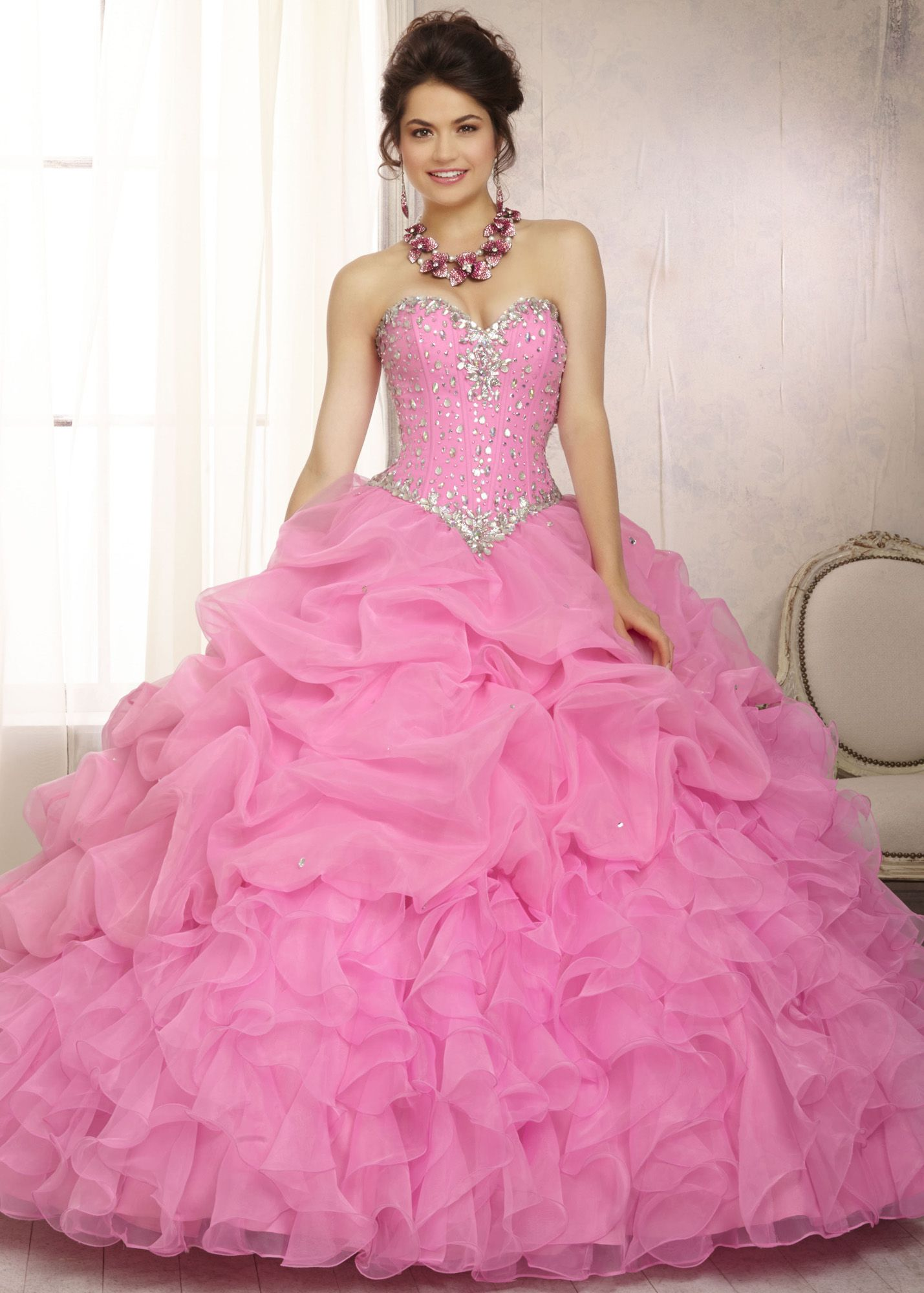 Vizcaya by Mori Lee 88083 Strapless Ball Gown | Quinceanera dresses ...