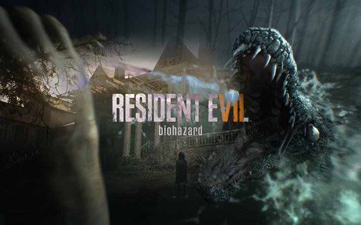 Download wallpapers Resident Evil 7, Biohazard, Umbrella ...