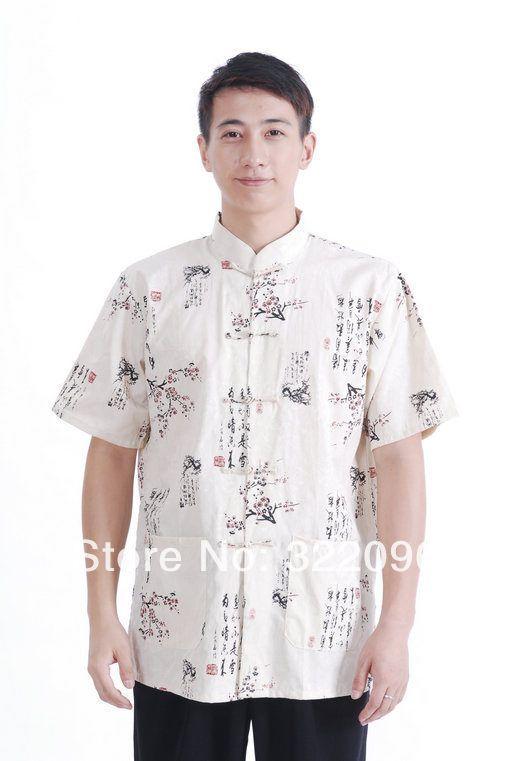 Shanghai Story hot sale 100% cotton shirt Tang shirt ...