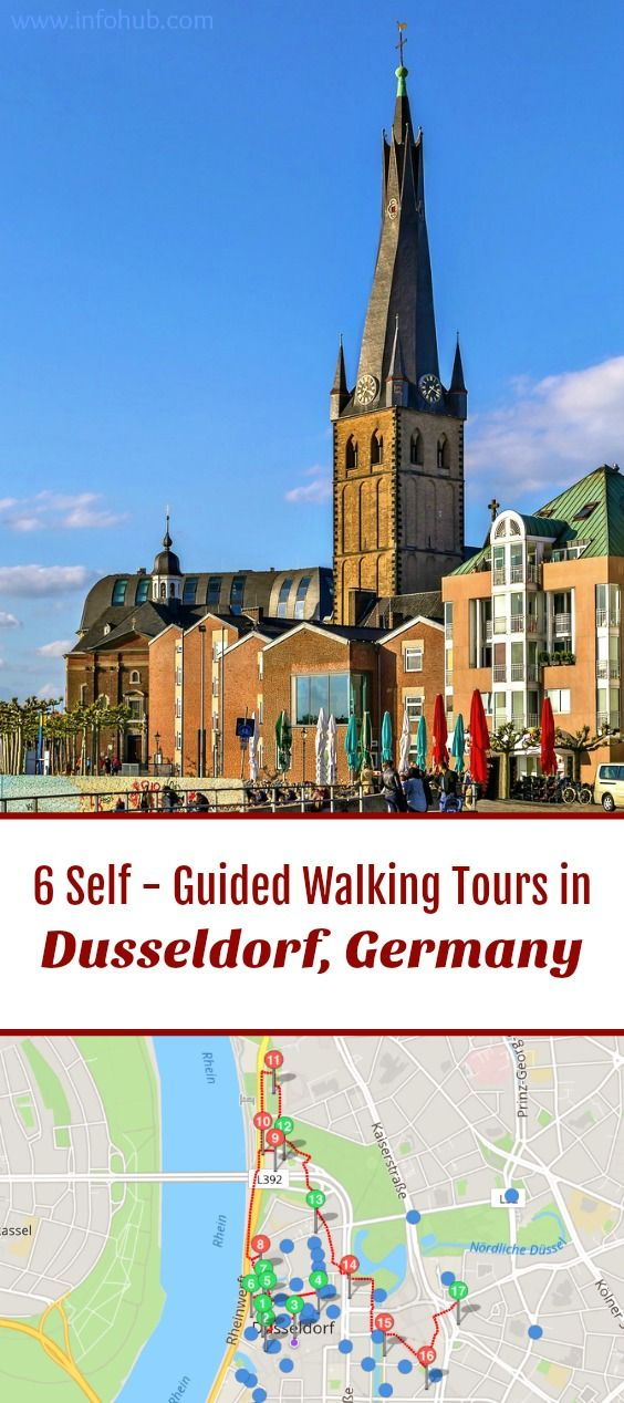 Top 6 Walking Tours in DuesseldorfGermany to