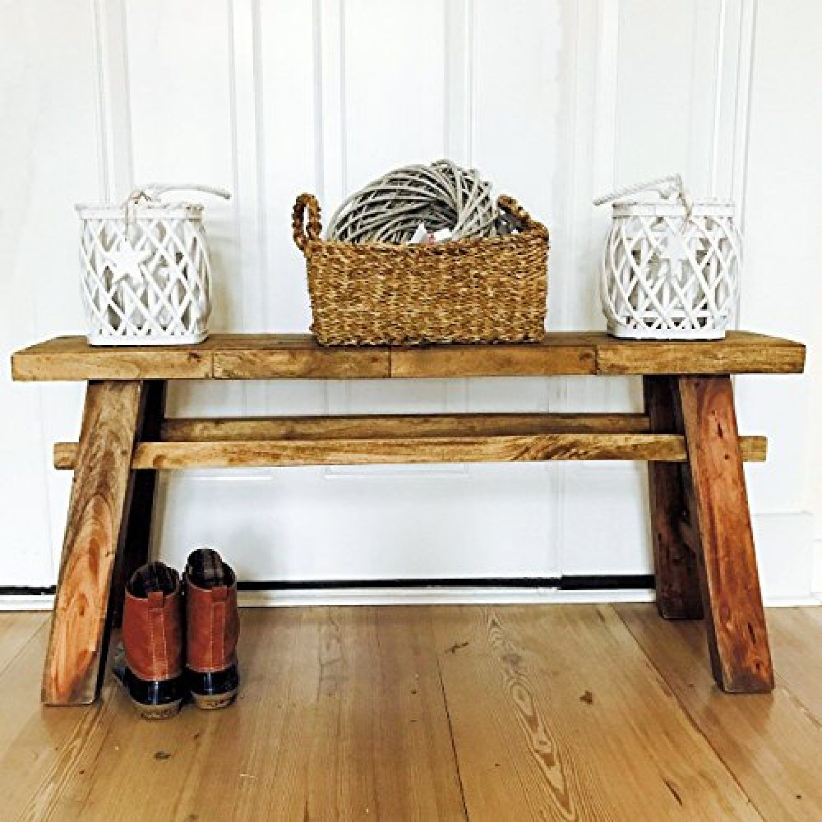 Cool The Rustic Bench Reclaimed Farmhouse A Frame Country Style Dailytribune Chair Design For Home Dailytribuneorg