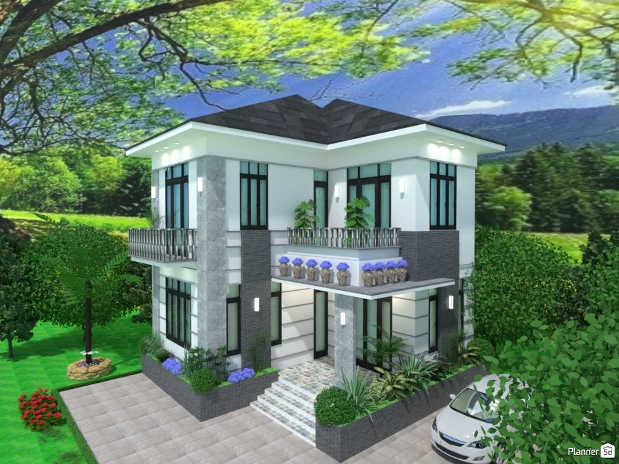 Architecture Planner 5d Modern House Design Home Design Software Modern House Plans