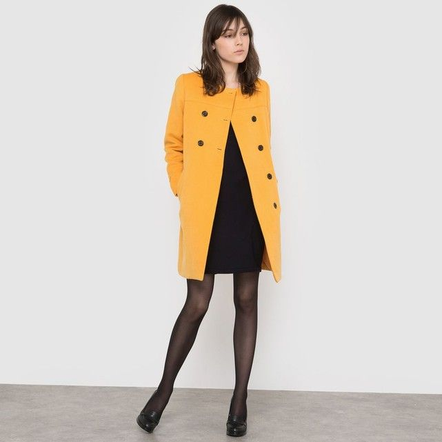 62d6339387e13 Coat La Redoute Collections   Fashion  French sites 2017 2018 ...