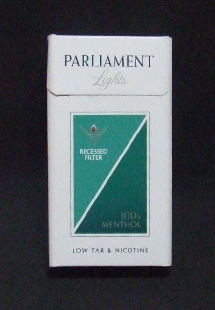 Favoritos Embalagem de Parliament Menthol | cigarettes | Pinterest | Nostalgia OZ39