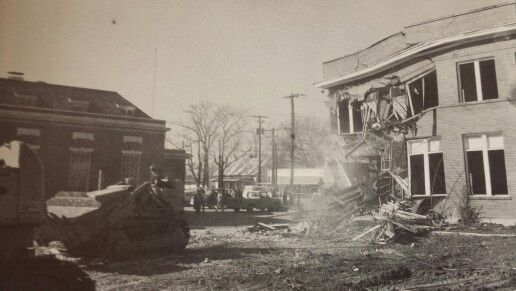Demolition Of The Canton Hotel 1968 Ga
