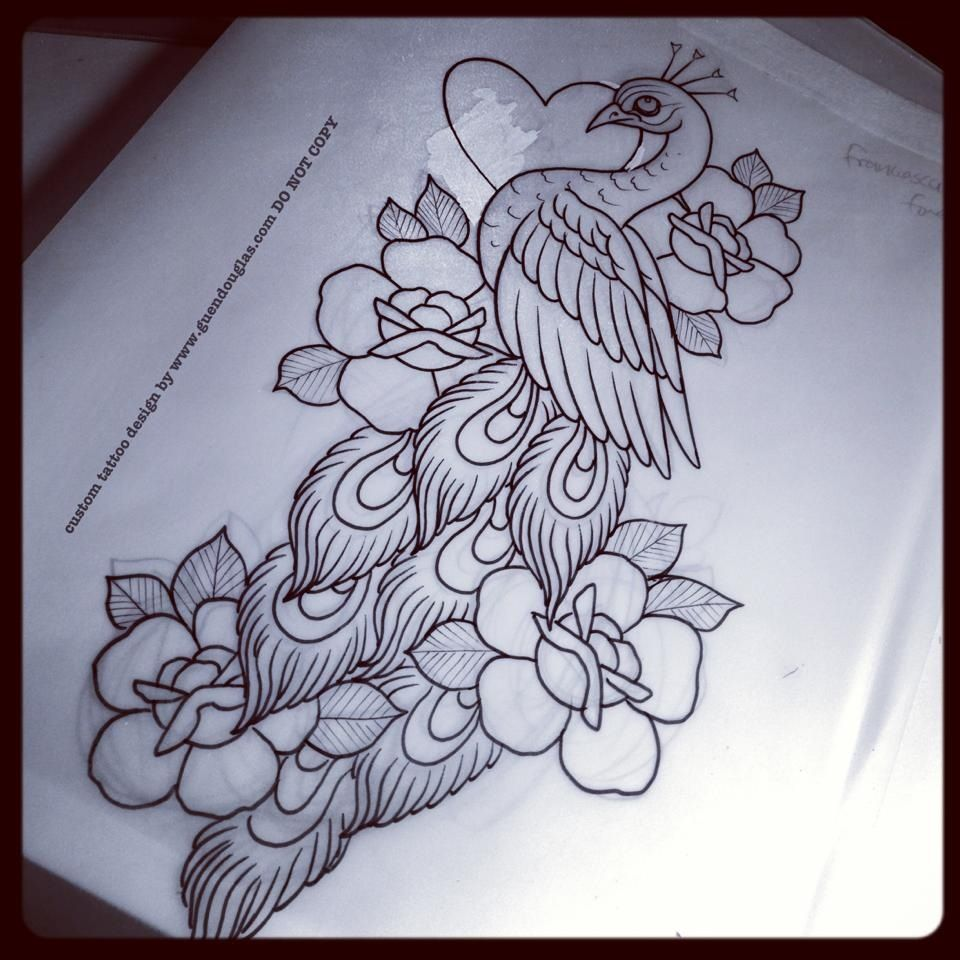 Tattoo Drawings, Peacock Tattoo, Tattoos