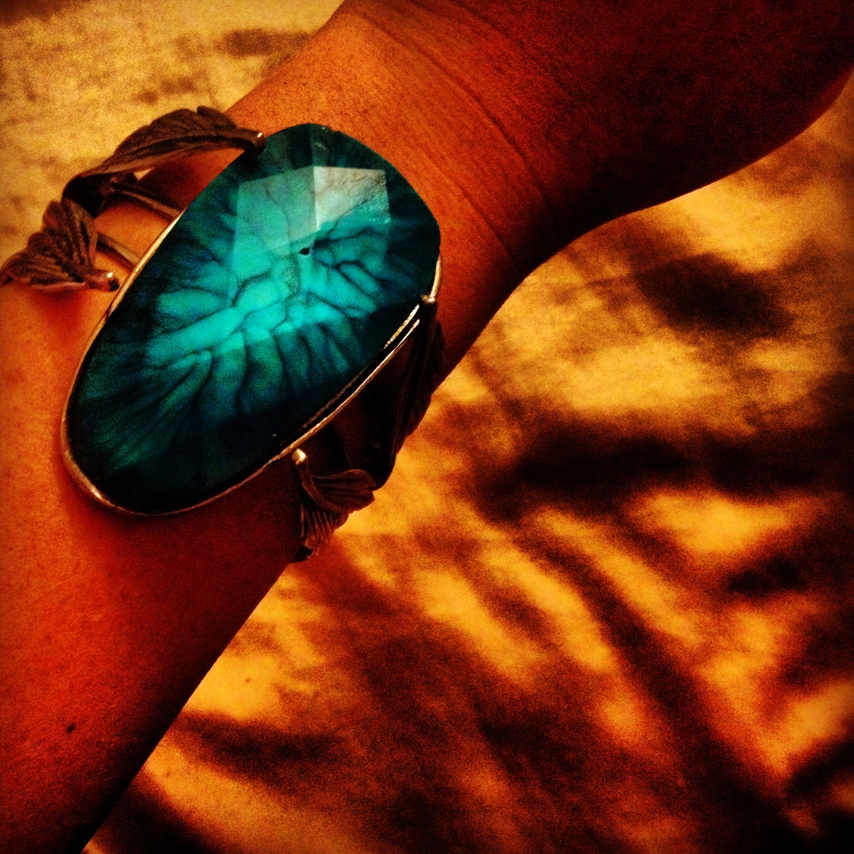 Gorgeous new bracelet I got from my work!