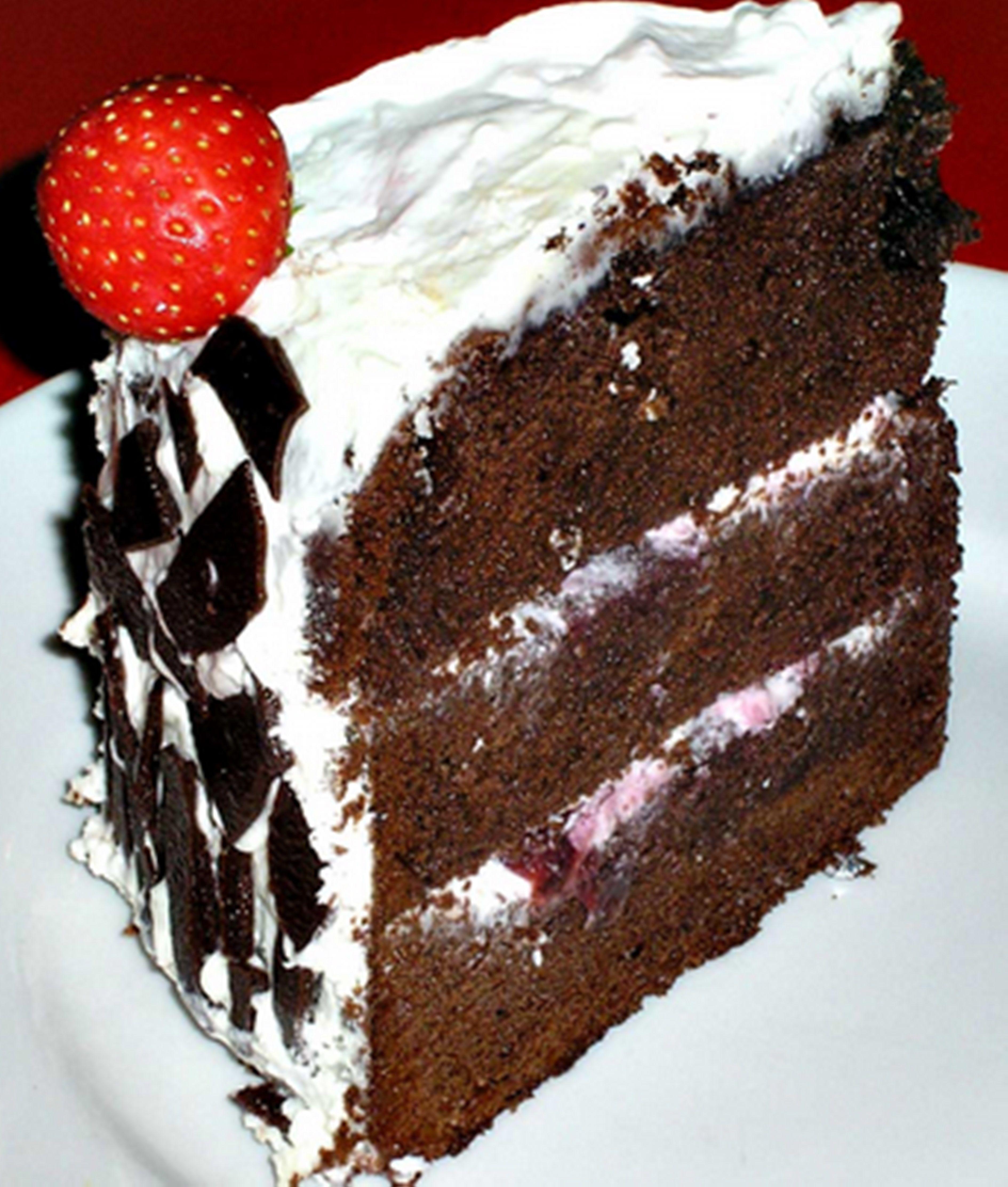Cara Buat Black Forest Cake