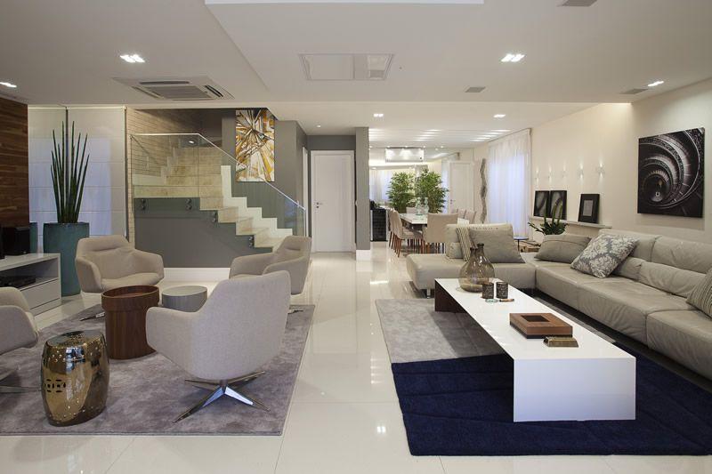 Sofas Para Sala De Estar E Tv ~ Salas de bate papo integradas às salas de tv  ótima dica para