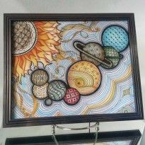 Penmark Patterns Zentangle Solar System by Katie Butler.  katie butler, a new favorite zentangle artist