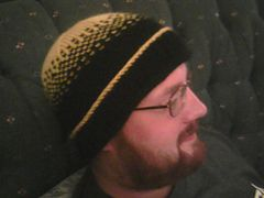 Ravelry: Pittsburgh Steelers Hat (W252) pattern by Lorna Miser ... free pattern .... worsted .... 440 yards