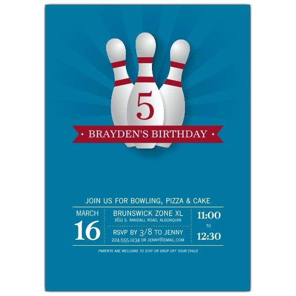 anniversaire xl bowling