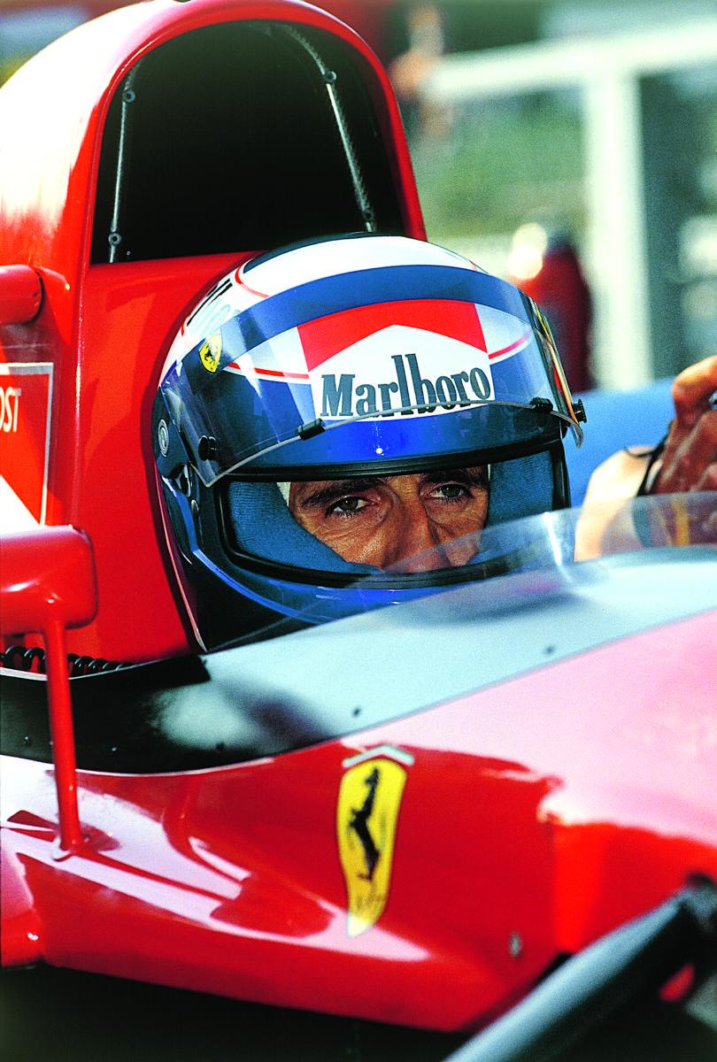 F1 Pictures, Alain Prost Ferrari 1991