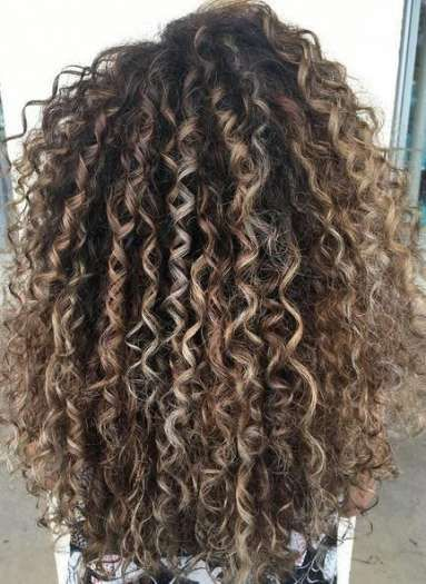 Hair Color Curly Ombre Natural Curls Afro 19 Ideas Curly Hair Styles Dyed Curly Hair Colored Curly Hair