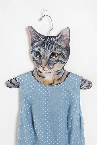 Animal Clothes Hanger..WANT!!!!