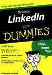 Beveel ik altijd aan in mijn workshops De kleine LinkedIn voor Dummies