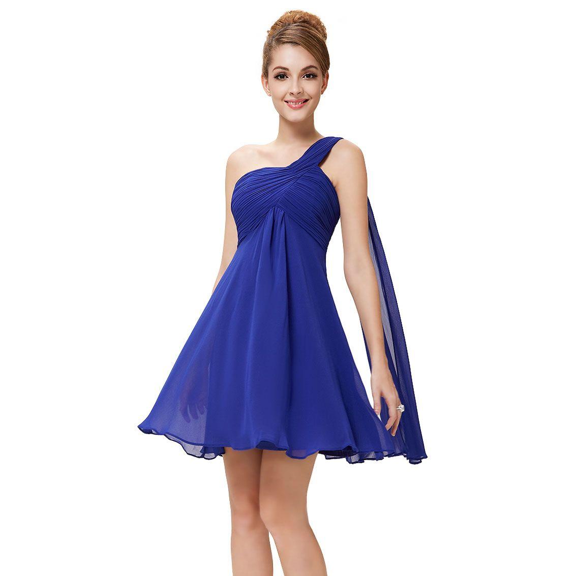 Ever pretty nwt one shoulder ruffles padded bridesmaid dress