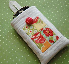 cute little phone case: tutorial here - http://pinterest.com/pin/449234131551083694/