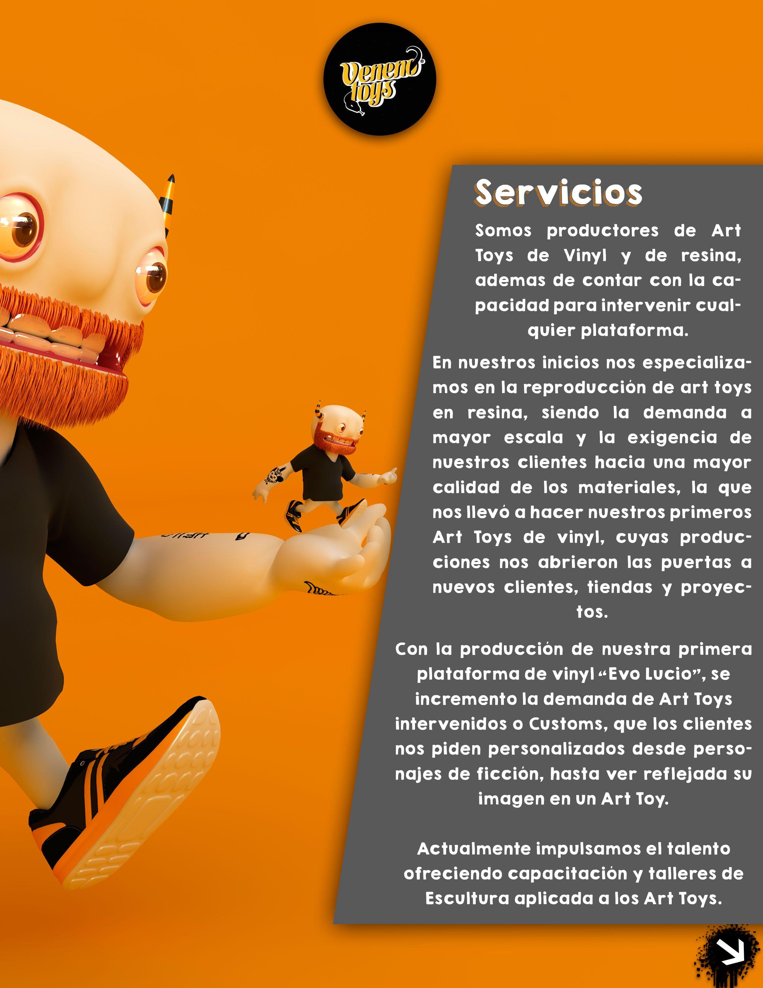 Diseño de brochures, pagina para impresión (diseño de personaje CGI)
