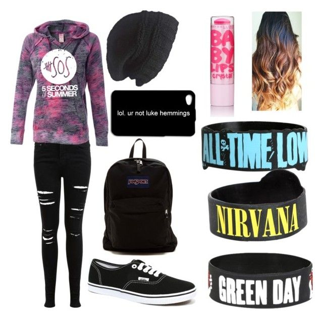 """Untitled #29"" by izzy6603 ❤ liked on Polyvore featuring Miss Selfridge, Vans, JanSport and Laundromat"