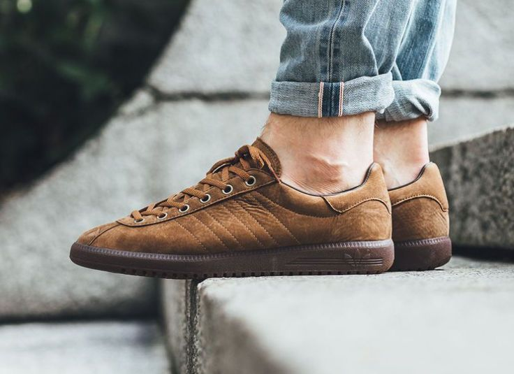 Chaussure Adidas SPZL Super Tobacco Wood (daim marron)