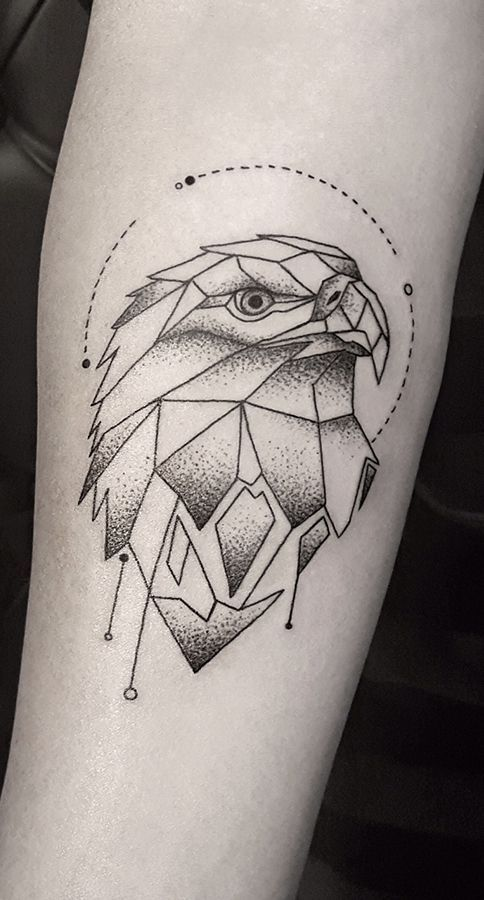 Tatuajes Populares Aguila Tatuajes Tatuaje Geométrico Primer
