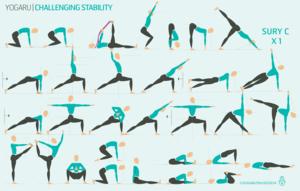 challenging stability  yoga  yoga sequences vinyasa