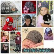 Sale *Ava Series- newsboy cloche, beanie - via @Craftsy