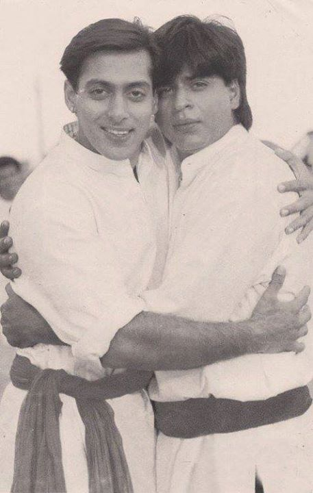 Salman Khan Shah Rukh Khan Karan Arjun 1995 All The Way