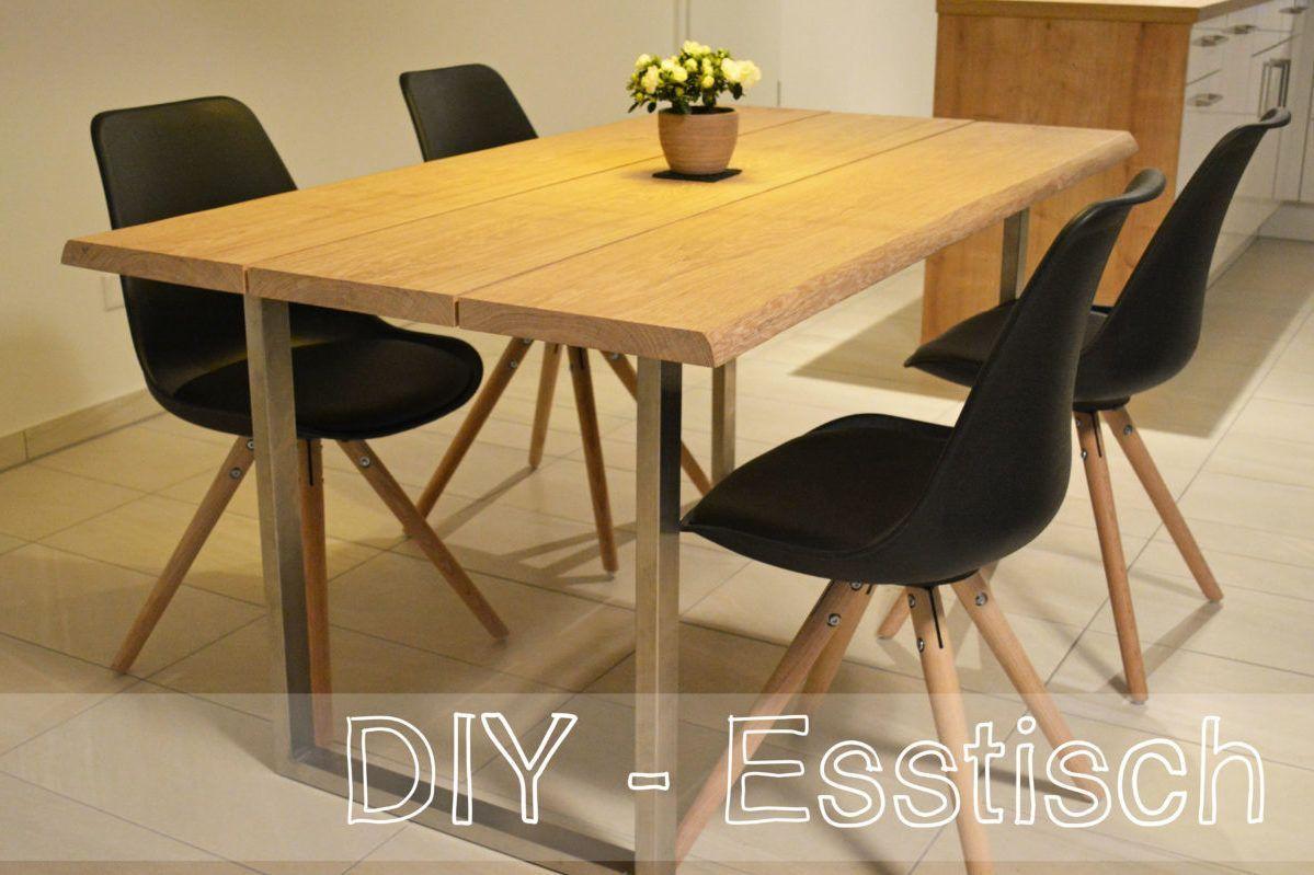 Kuchentisch Bauen Diy Esstisch Kuche Tisch Esstisch